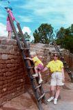 Dunkin Climbs at Mesa Verde