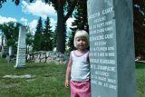 Callie in the Graveyard