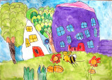 house, Helen Cai, age:3.5