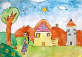 house, Nancy Yin, age:6