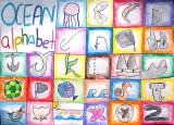 ocean  alphabet, Rachel, age:12