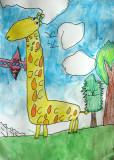 giraffe, Daniel Li, age:5.5