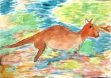 kangaroo, Lin Hung Yu, age:5