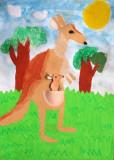 kangaroo, Sophia Ying, age:6