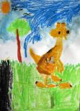 kangaroo, Clifford, age:5