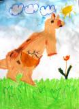 kangaroo, Sophie Wang, age:5