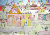 please count the houses, Sophia Su, age:6.5