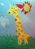 giraffe, Jerry, age:5