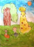 giraffe, Ann, age:4.5
