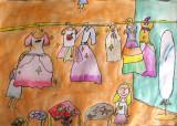 dress shop, Danielle, age:5.5