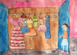 my wardrobe, Christine, age:6.5