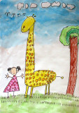 giraffe, Emma, age:4.5