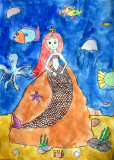 Mermaid, Christine, age:6.5