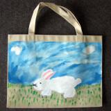recycle bag, Lin Hong Yu, age:5.5