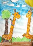 my favourite animal - giraffe, Lee-Anne, age:6
