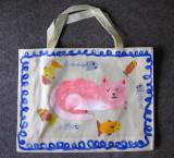recycle bag, Christine, age:7