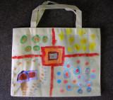 recycle bag, Sophia He, age:6
