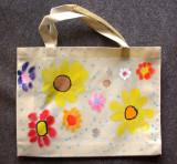 recycle bag, Yang Ling, age:6