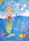 Mermaid, Jane, age:4