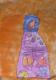 my beautiful dress, Amber, age:4