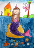 Mermaid, Sophia Su, age:5.5