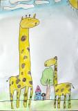 giraffe, Sophia Su, age:6