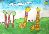 giraffe, Danielle, age:4