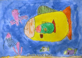 under water, Kevin, age:5