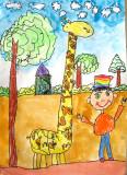 giraffe, Jamie, age:5