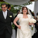 Sari Kives weds Allen Ohana June 7, 2009