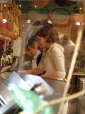 Through the Pasta Shop Window