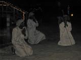Shepherds in the Nativity Scene