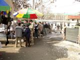 An Afghan bazaar at one of the military bases
