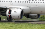 Reverse Thrust - Philippine Airlines A-319
