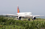 RP-C8600.  Touchdown Dipolog!  Thrust reversers opening.