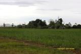 Settlement beside airstrip