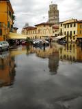 Rain in Pisa
