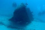 H86--Underwater St Maarten, The Bridge site wreck