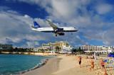J68--Maho Bay and airport, St Maarten