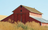 Old Red Barn.....New Roof