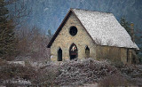 Old Stone Butter Church 1870.....haunted?