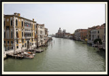 The Grand Canal down to Chiesa di Santa Maria della Salute