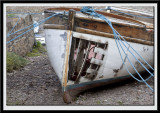 Luxury boat for sale.  Some rising damp.