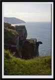 View from the cliff path