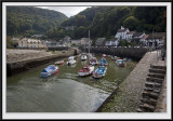 Lynmouth Harbour and Village