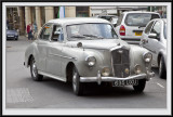 A Wolseley Fifteen Fifty turning Right.