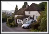 Rose Cottage, early Sunday morning