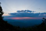 Blue Ridge Parkway Sunset 1