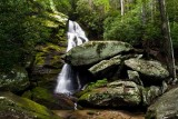Upper Waterfall on Little Lost Cove Creek 1
