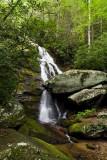Upper Waterfall on Little Lost Cove Creek 2